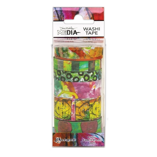 Dina Wakley Ranger WASHI TAPE 4 Media mda63001 Preview Image