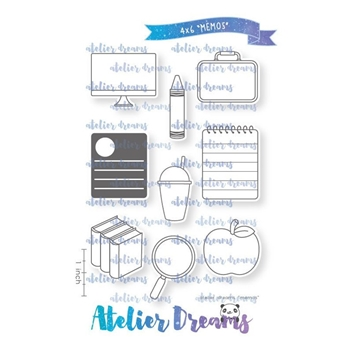 Atelier Dreams MEMOS Clear Stamp Set ad085