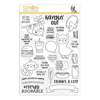 Simon Says Clear Stamps SO PUN FRIENDS sss101935