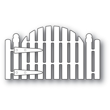 Memory Box COTTAGE GARDEN GATE Craft Die 94082