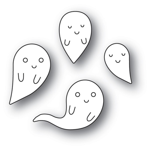 Memory Box FRIENDLY GHOSTS Craft Die 94086 Preview Image