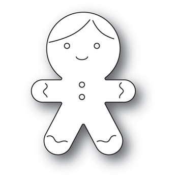 Memory Box GINGERBREAD COOKIE Craft Die 94090