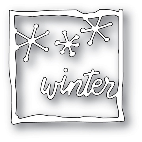 Memory Box WINTER JOURNAL FRAME Craft Die 94093 Preview Image