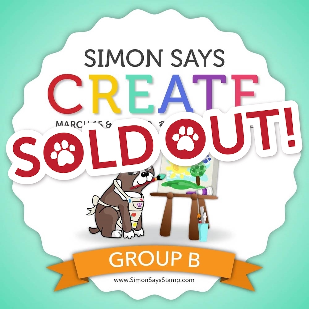 Simon Says CREATE 2019 Ticket B zoom image