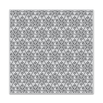 Hero Arts Cling Stamp DELICATE SNOWFLAKE BOLD PRINTS CG752