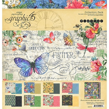 Graphic 45 FLUTTER 12 x 12 Collection Pack 4501776