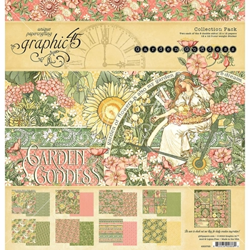 Graphic 45 GARDEN GODDESS 12 x 12 Collection Pack 4501753