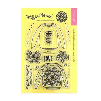 Waffle Flower SWEATER WEATHER Clear Stamps 271206