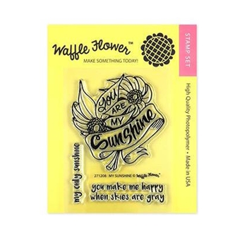 Waffle Flower MY SUNSHINE Clear Stamps 271208