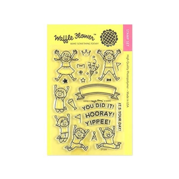 Waffle Flower YIPPEE Clear Stamps 271205