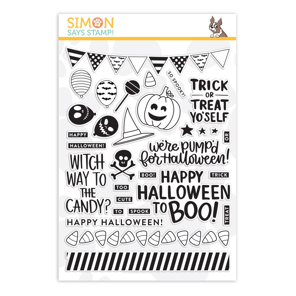 Simon Says Clear Stamps TRICK OR TREAT YO'SELF sss101829  zoom image