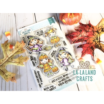 La-La Land Crafts Clear Stamps HAPPY BOO TO YOU CL012