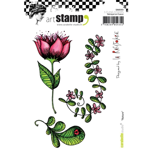 Carabelle Studio NATURE Cling Stamp sa60393 Preview Image