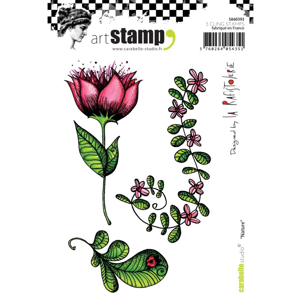 Carabelle Studio NATURE Cling Stamp sa60393 zoom image