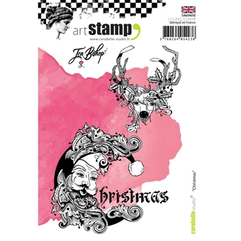 Carabelle Studio CHRISTMAS Cling Stamp sa60405e