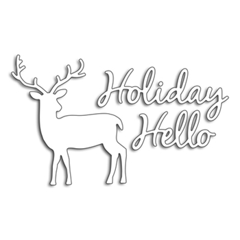 Penny Black HOLIDAY HELLO Thin Metal Creative Dies 51-460