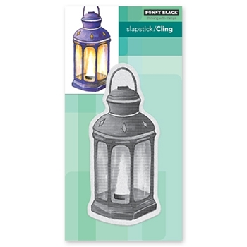 Penny Black Cling Stamp LANTERN 40-660