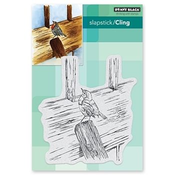 Penny Black Cling Stamp WINTER LOOKOUT 40-652