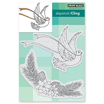 Penny Black Cling Stamps JOY OF PEACE 40-643