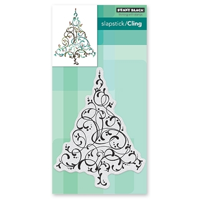 Penny Black Cling Stamp FLOURISHING TREE 40-639 Preview Image