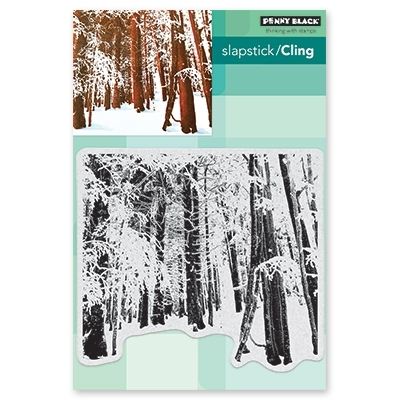 Penny Black Cling Stamp SNOW FOREST 40-634 zoom image