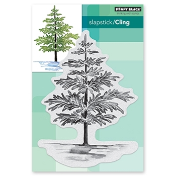 Penny Black Cling Stamp CHRISTMAS FOLIAGE 40-632