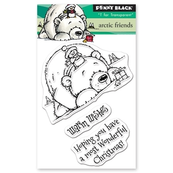 Penny Black Clear Stamps ARCTIC FRIENDS 30-519