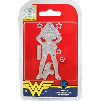 Character World DC Comics Wonder Woman STRENGTH GRACE AND JUSTICE Dies DUS4116