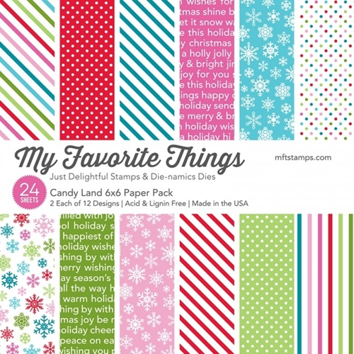 My Favorite Things CANDY LAND 6x6 Paper Pack 8339 Preview Image