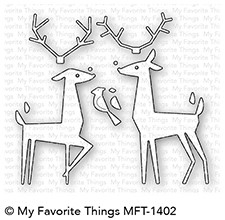 My Favorite Things DELIGHTFUL DEER Die-Namics MFT1402