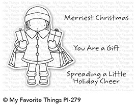 Pure Innocence HOLIDAY CHEER Clear Stamps MFT PI279