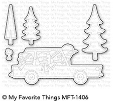 My Favorite Things COOL CHRISTMAS Die-Namics MFT1406