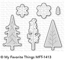 My Favorite Things TRIO OF TREES Die-Namics MFT1413