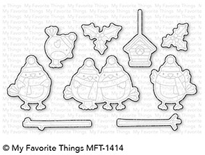 My Favorite Things TWEET HOLIDAYS Die-Namics MFT1414