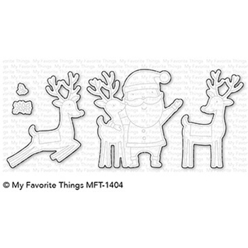My Favorite Things SANTA AND FRIENDS Die-Namics MFT1404