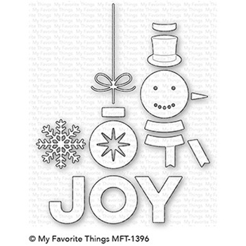 My Favorite Things FILLED WITH JOY Die-Namics MFT1396