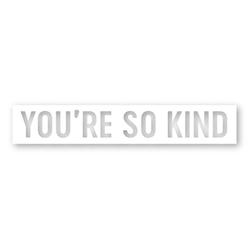 Simon Says Stamp YOU'RE SO KIND Wafer Die sssd111902 Fun and Festive