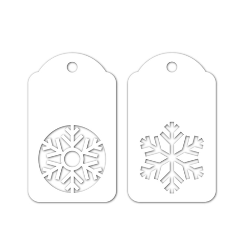 Simon Says Stamp SNOWFLAKE TAGS Wafer Dies sssd111901 Fun and Festive Preview Image