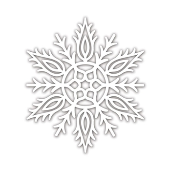 RESERVE Simon Says Stamp ALICIA SNOWFLAKE Wafer Dies sssd111879 Fun and Festive