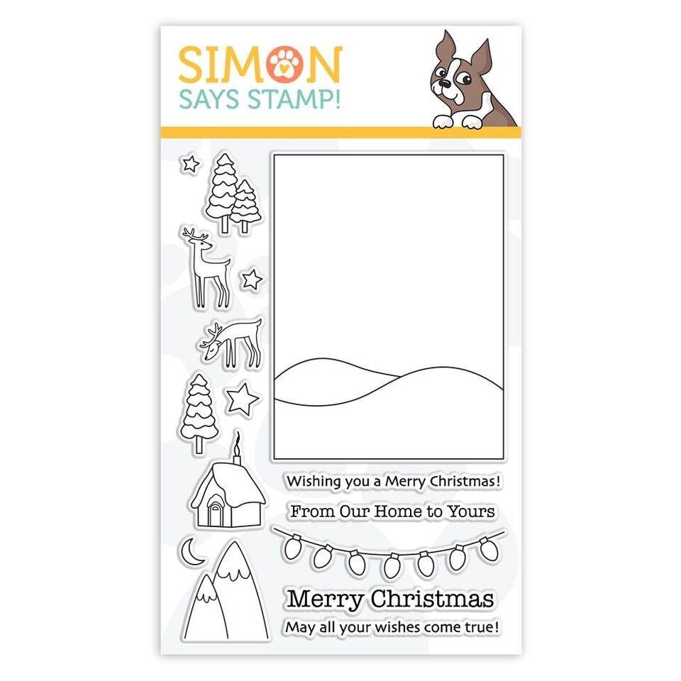 Simon Says Clear Stamps WINTER SCENE sss101887 Fun and Festive zoom image