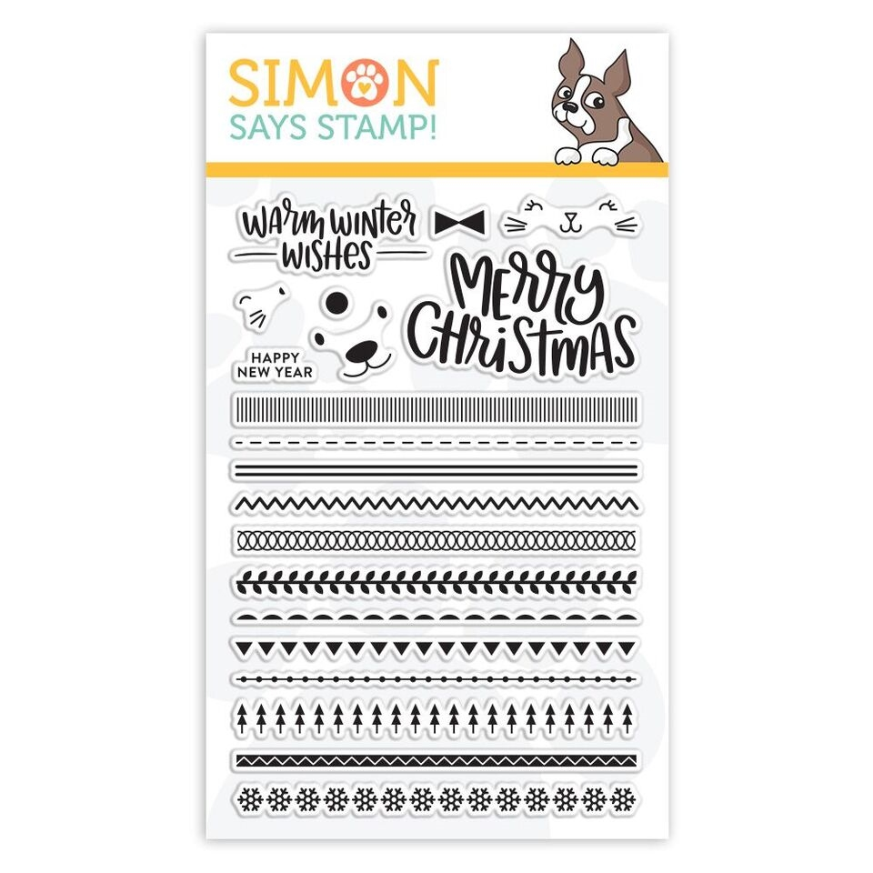 Simon Says Clear Stamps CRITTER SWEATERS sss101890 Fun and Festive zoom image