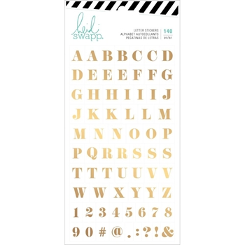 Heidi Swapp EMERSON LANE Alphabet Stickers 314435