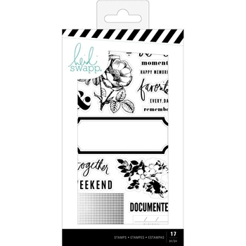 Heidi Swapp EMERSON LANE Clear Stamps 314432