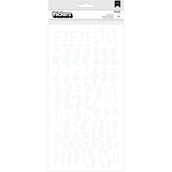 Heidi Swapp EMERSON LANE Thickers Stickers 314505