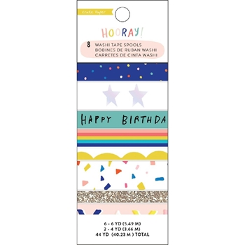 Crate Paper HOORAY Washi Tape 350766