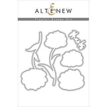Altenew PLAYFUL BLOOMS Dies ALT2693