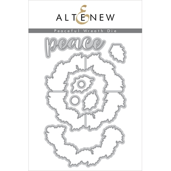 Altenew PEACEFUL WREATH Dies ALT2690