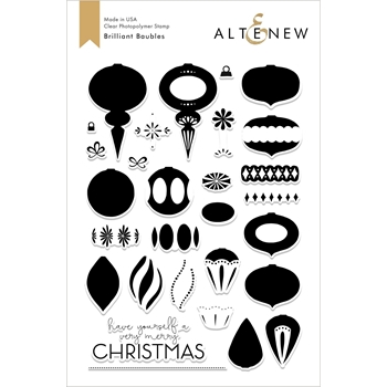 Altenew BRILLIANT BAUBLES Clear Stamps ALT2679