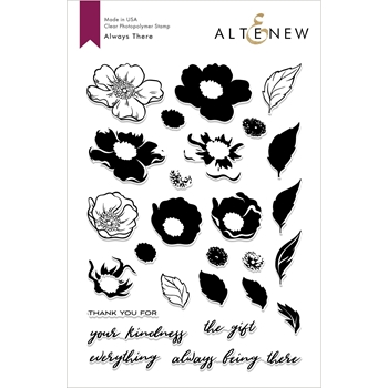 Altenew ALWAYS THERE Clear Stamps ALT2673