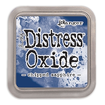 Tim Holtz Distress Oxide Ink Pad CHIPPED SAPPHIRE Ranger tdo55884